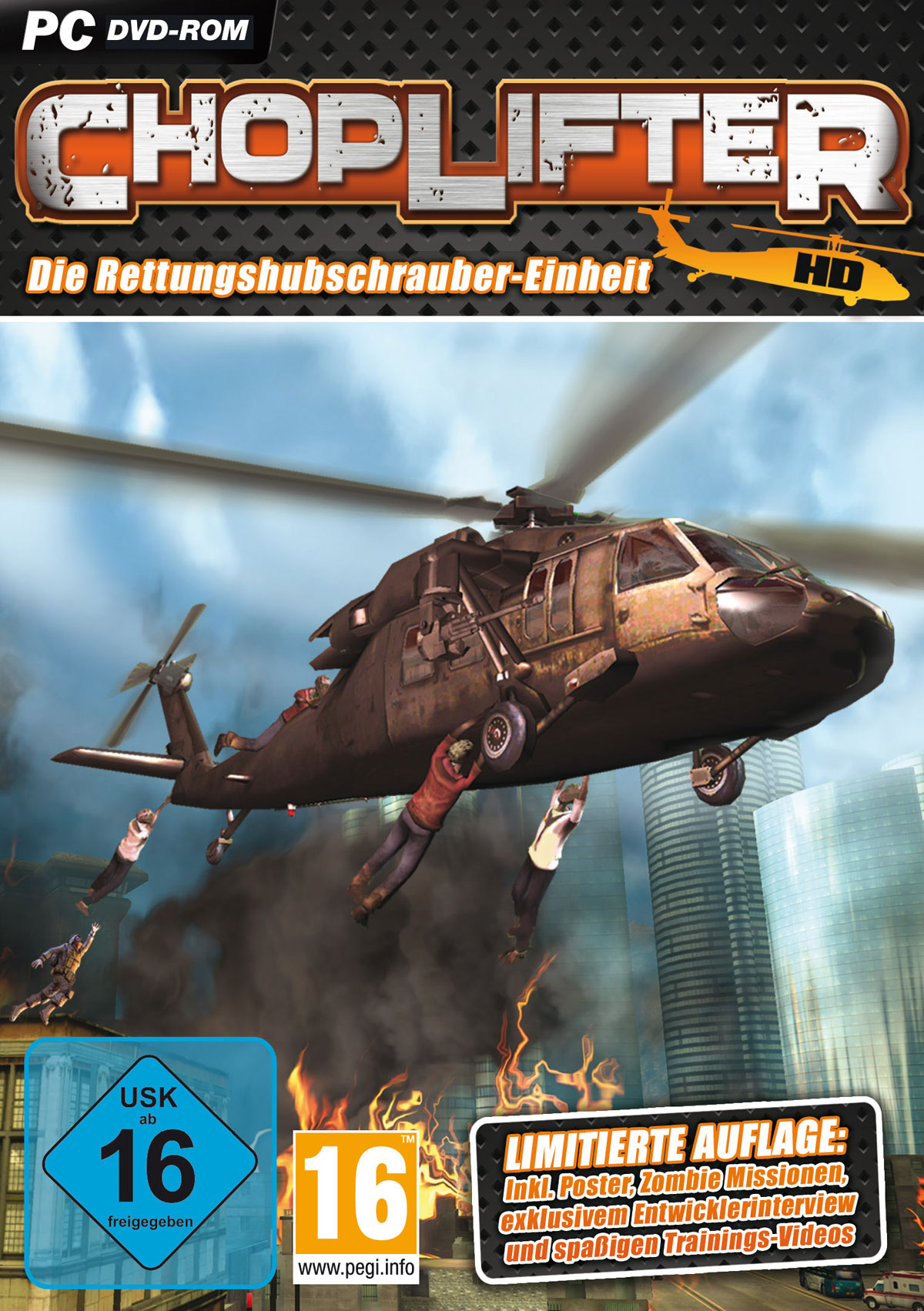 Remake eines 80er Klassikers: Choplifter HD!