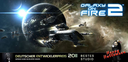 Halloween-Sale: Galaxy on Fire 2 zum Spezial-Preis