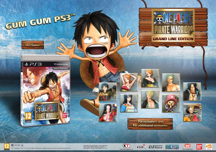 ONE PIECE: PIRATE WARRIORS – Die Grand Line Edition für PlayStation
