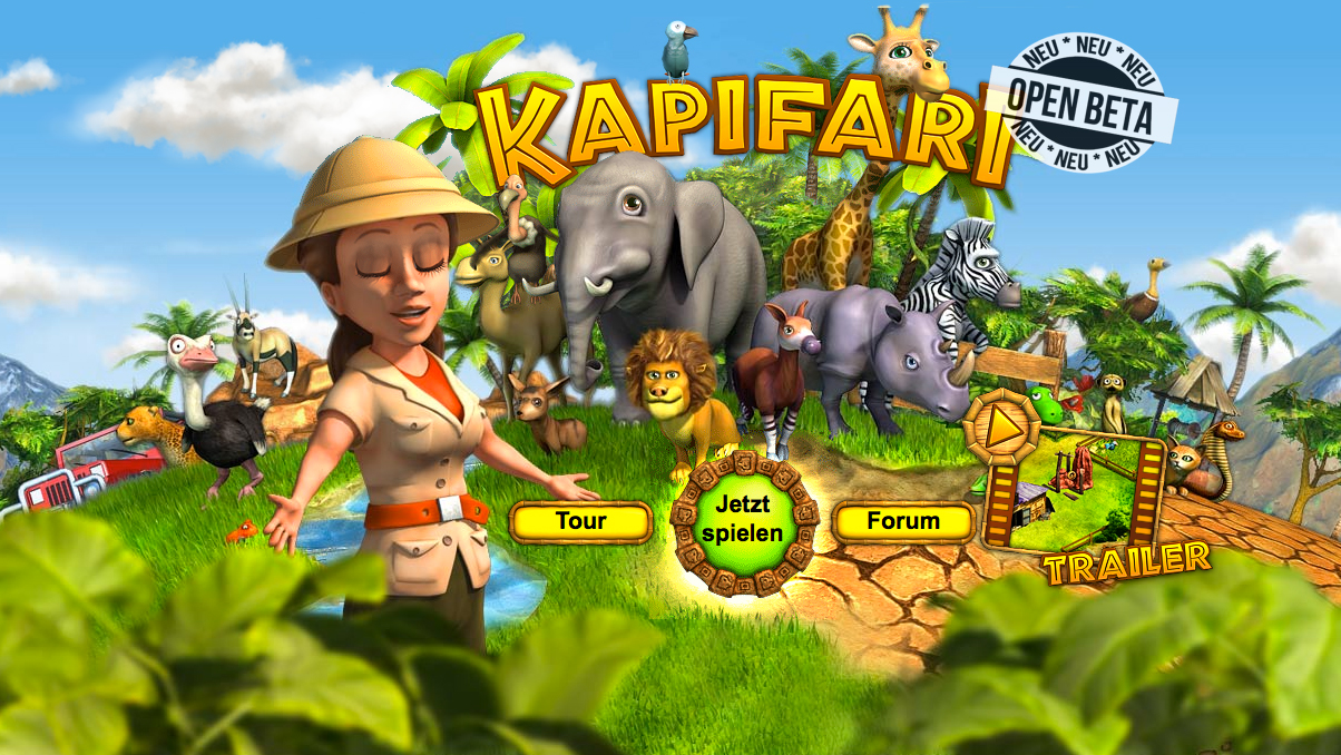 Mit KAPIFARI zur Safari: Wildhüter-Browsergame eröffent Open Beta-Tests