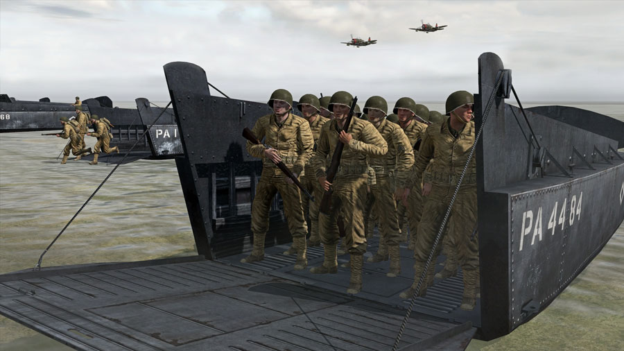 Iron Front D-Day Landing