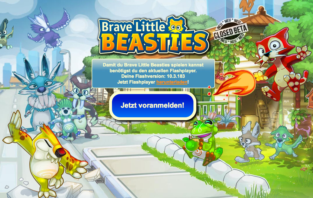 Brave Little Beasties Closed Beta