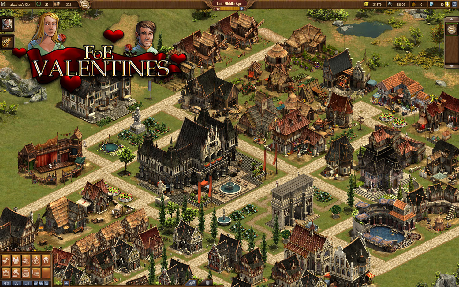 In Forge of Empires wird's am Valentinstag romantisch