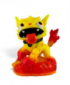 Skylanders Molten Hot Dog