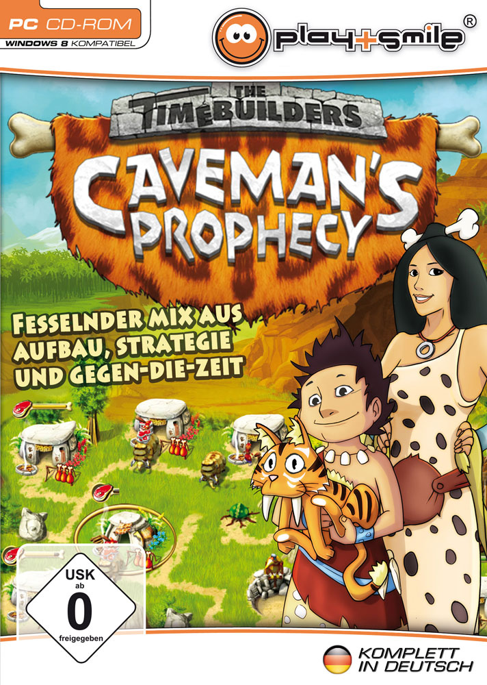 Point and Click Games Cavemans Prophecy Cover