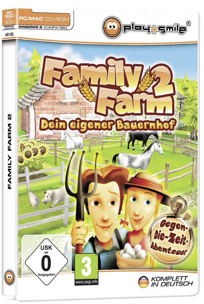 Farm Games Family Farm Cover