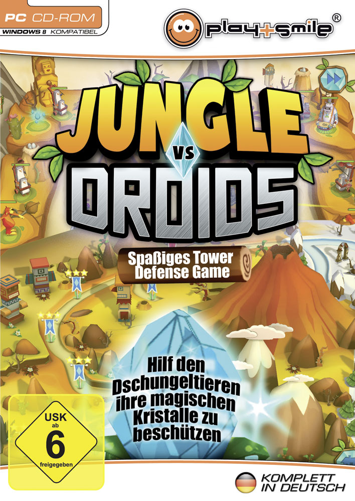Tower Defense Droids vs Jungle
