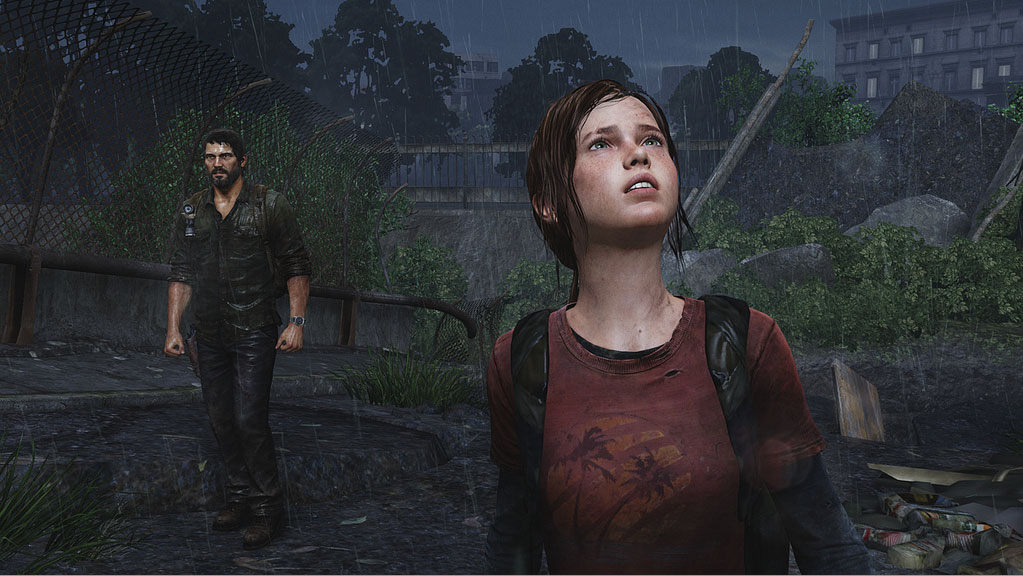 The Last of Us - Ellie and Joel