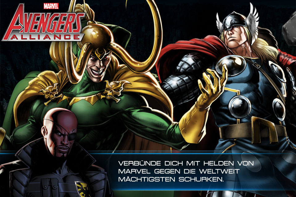 Avengers Alliance für iOS