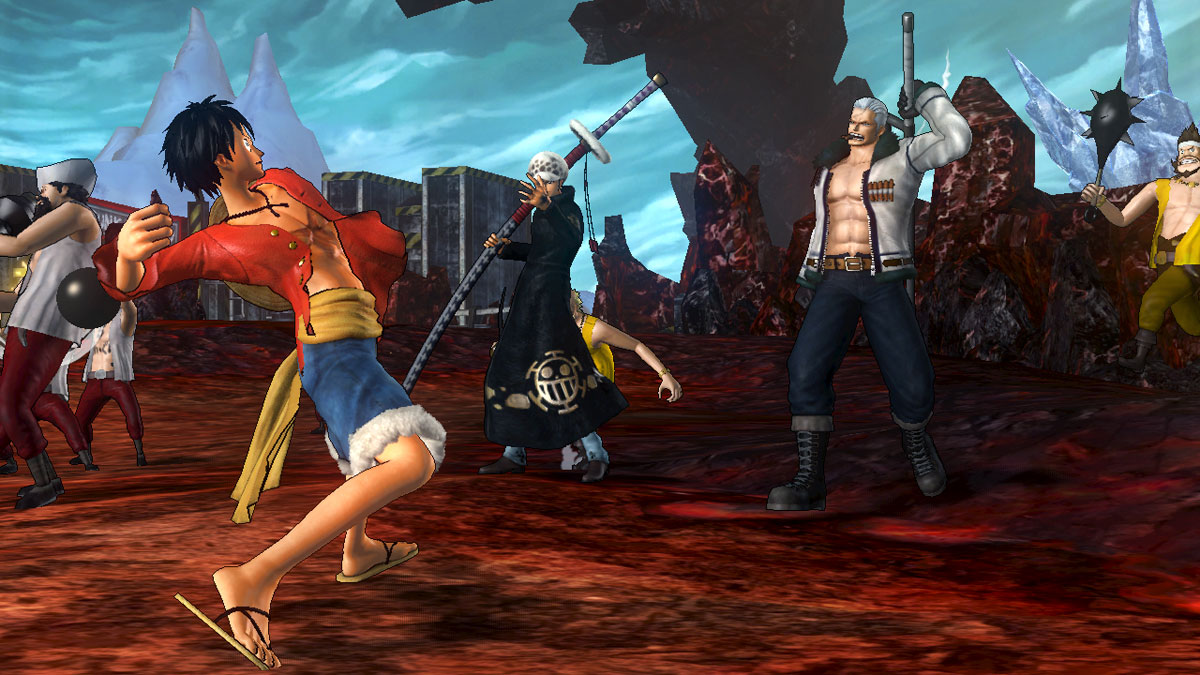 Neuer DLC One Piece Pirate Warriors 2