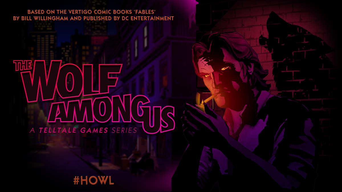 Neuer independent Comic Spieletitel von Telltale: The Wolf Among Us