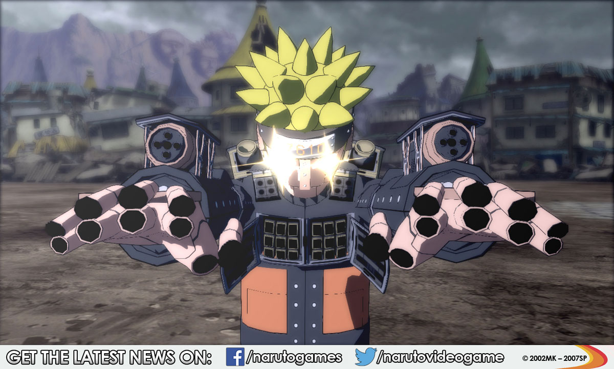 Ultimate Ninja Storm Revolution Mecha Naruto