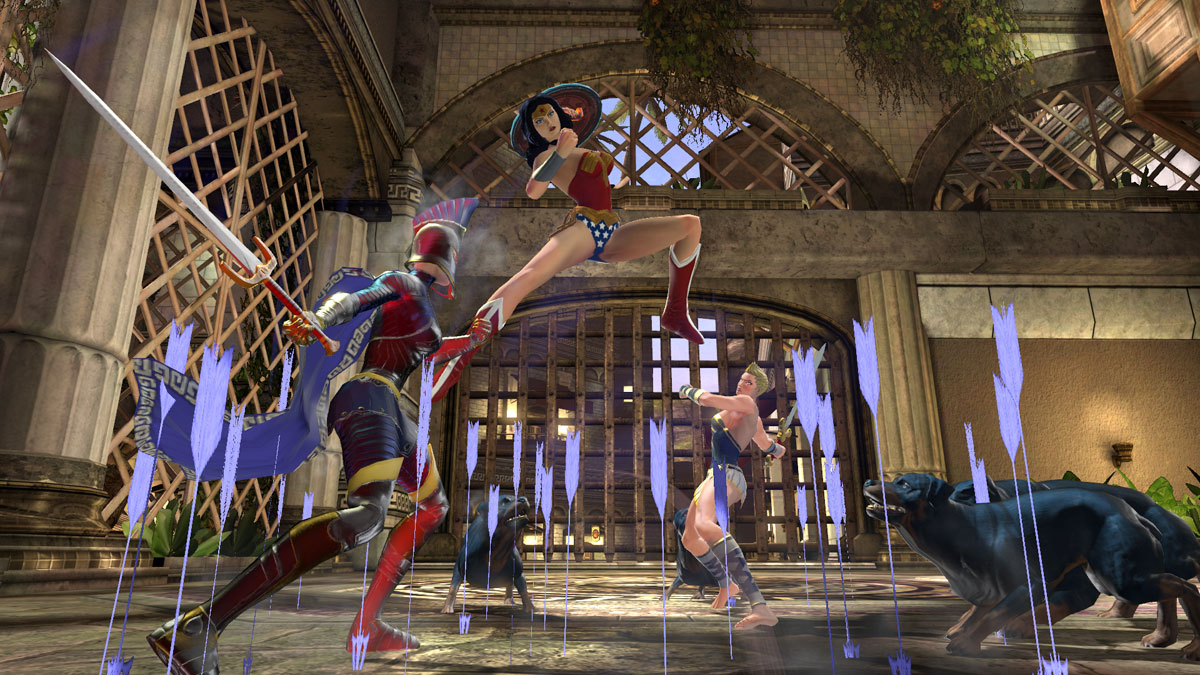 DC Universe Online Anazon Fury - Wonder Woman