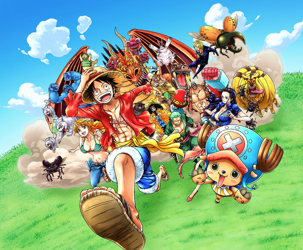 One piece key art