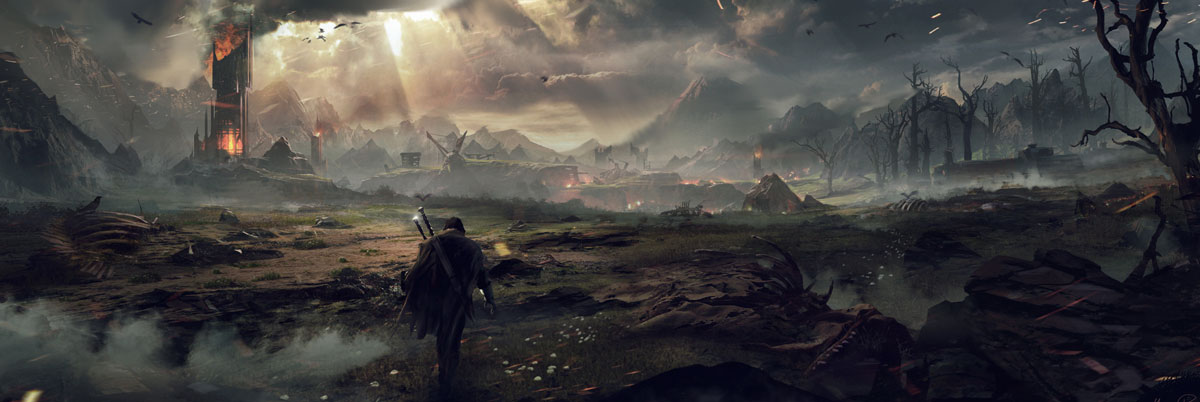Middle Earth Shadow of Mordor Artwork