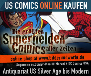 Comic Online Shop - US-Comics Superhelden Spider-Man vs. Superman