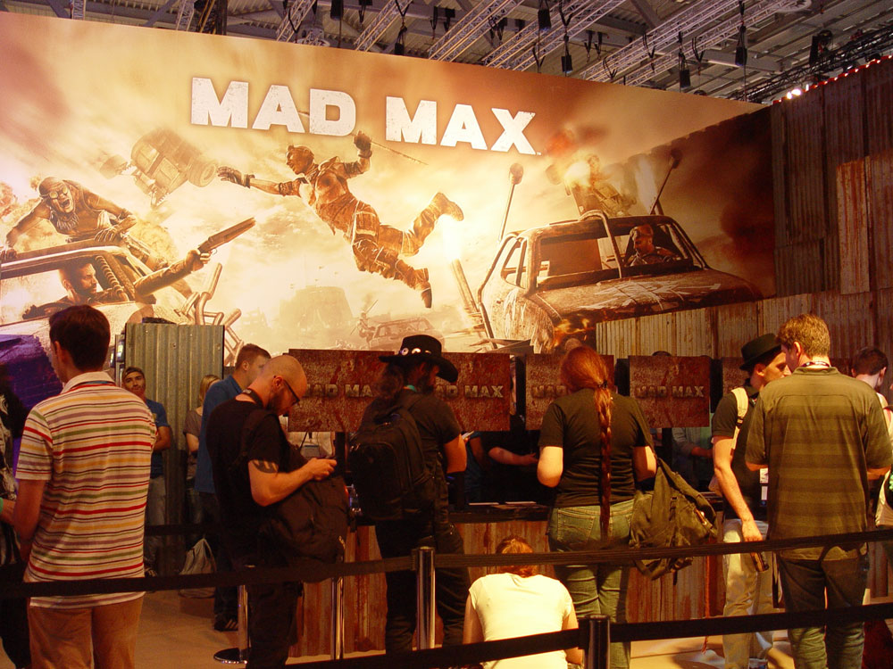 Gamescom 2015 – Photo Impressions: Mad Max