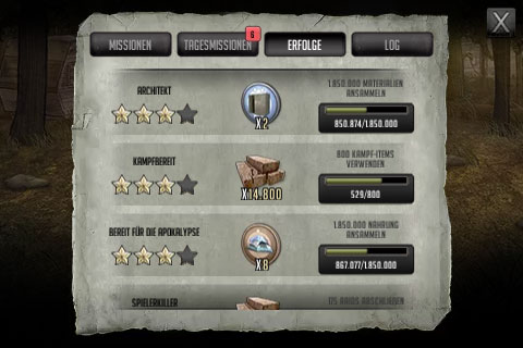 TWD Road to Survival tipps Tagesmissionen