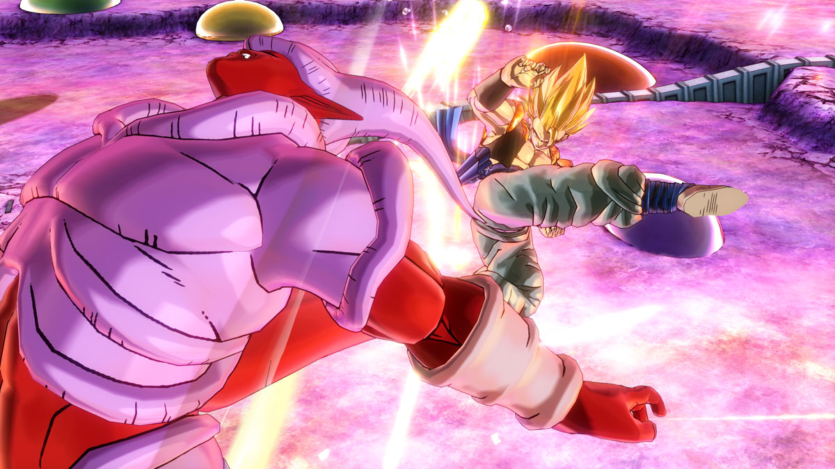 Dragon Ball Xenoverse 2 release Aure Burst