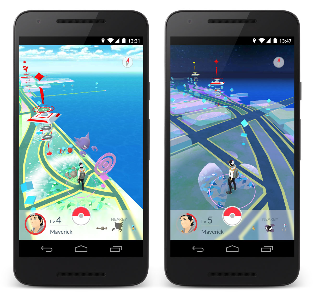Pokemon GO release Summer 2016 - Map - Karte