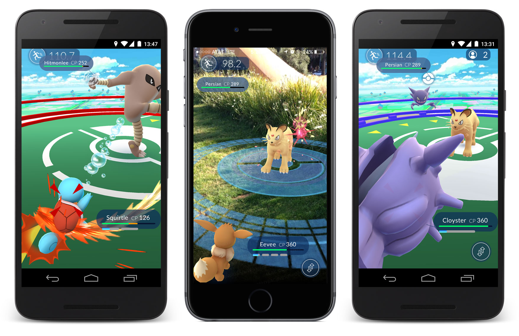 Pokemon GO release Summer 2016 - Arena