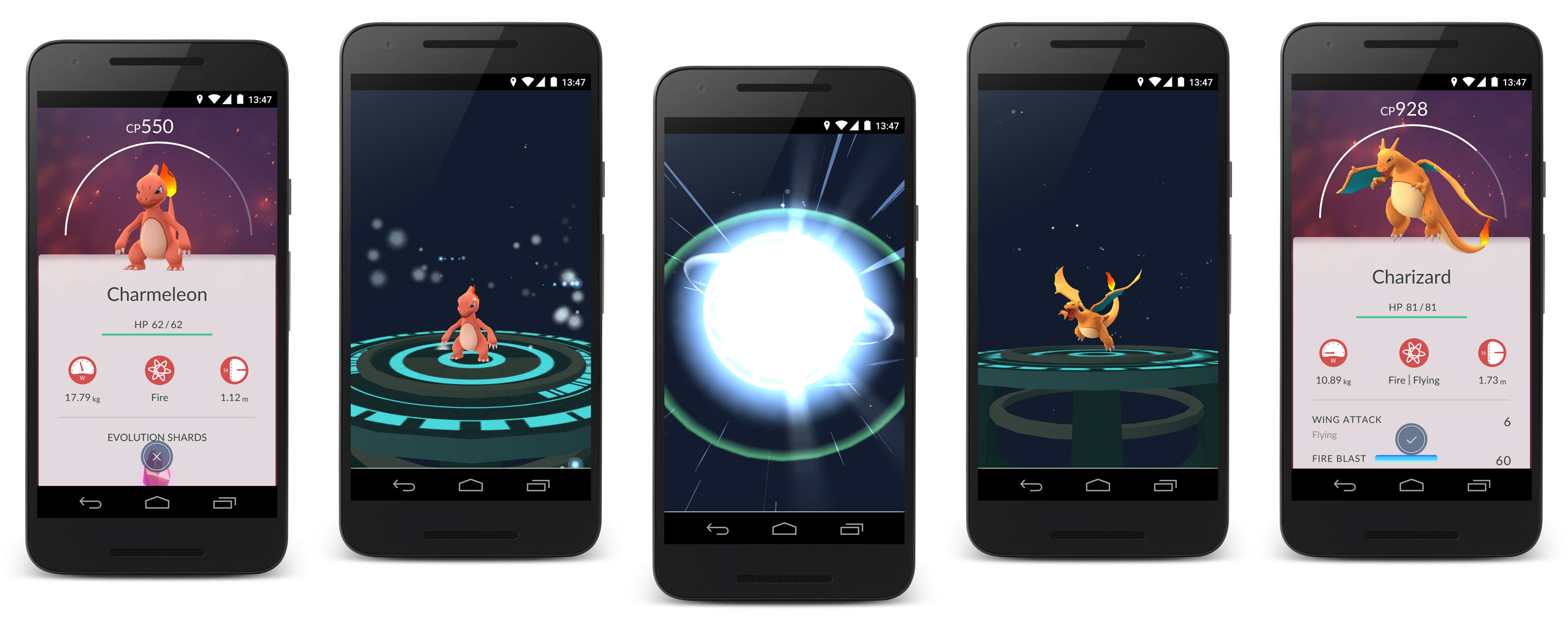 Pokemon GO release Summer 2016 - Evolution
