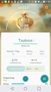 Tauboss PokemonGO Pokedex - alle Pokemon im Überblick